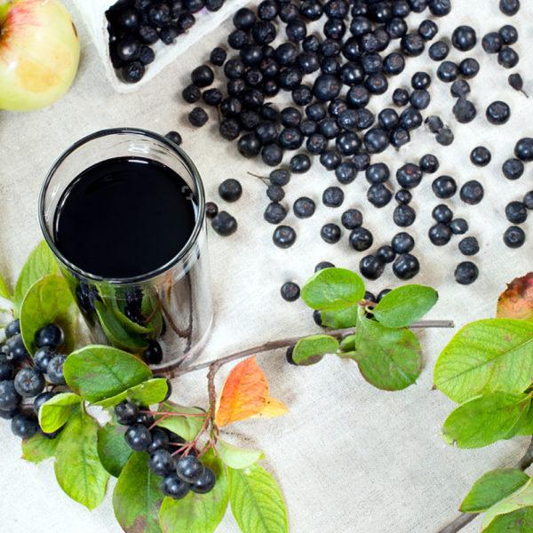 Zvjezdana plantaža sok u čaši